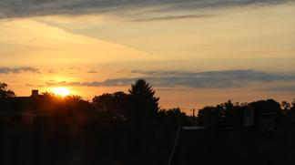 Sunset Arrives