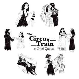 Circus Train Illustrations