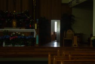 Through the Altar