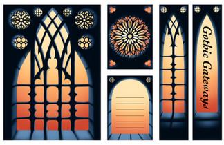 Gothic Gateways Stationery Set