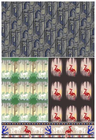 Medieval Pattern Coordinate