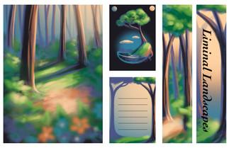 Liminal Landscapes Stationery Set