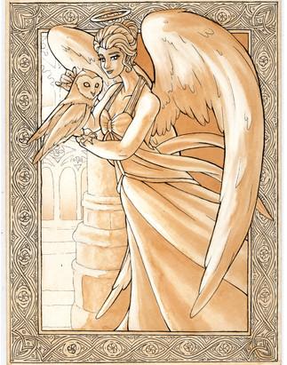 Owl Goddess (Athena)