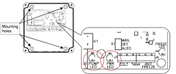 Differential controller for circulation pump
