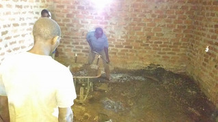Construction at the Orphanage - Tuesday
