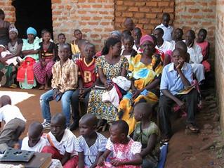 Service at Nakaroke Orphanage Home