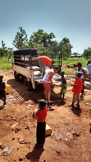 Construction at the Orphanage - Wednesday
