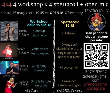 3 Luglio al Teatro Jolly di Cesena