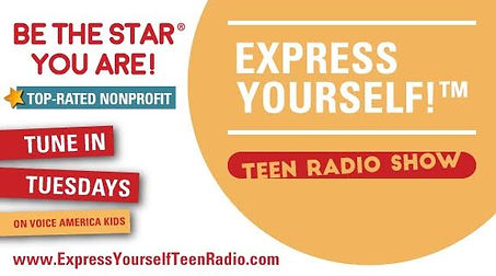 teens talk and the world listens at be the star you are express yourself radio