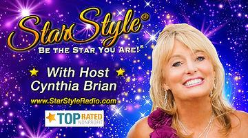 Cynthia Brian Hosts StarStyle Radio