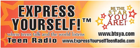Express YourSelf Teen Radio airs on The Voice America Kids Network Tuesdays at NOON PT