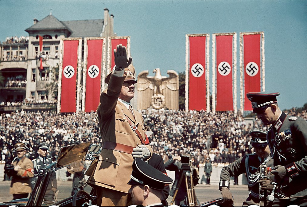 Heil Hitler! Charles Causey discuss the horrendous Holocaust