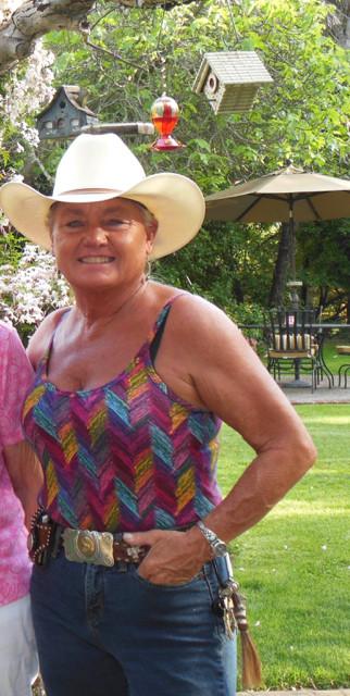 Salute to Debbie, Cowgirl Gardener