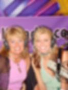 Radio Personalities, Cynthia Brian and Heather Brittany