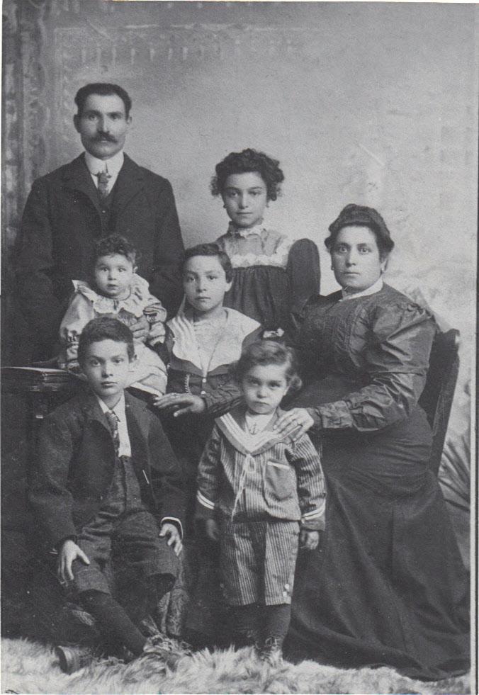 Family in 1910