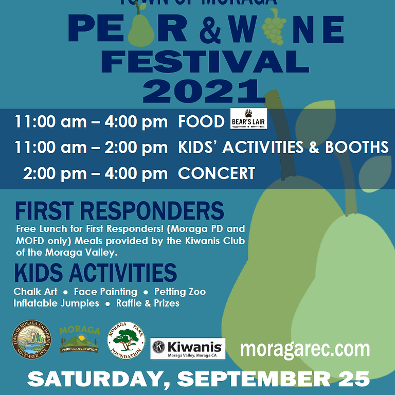 2021 Pear and Wine Festival Family Fun