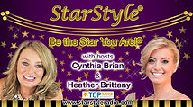 Cynthia Brian & Heather Brittany, Hosts, Voice America Network, Empowerment Channel