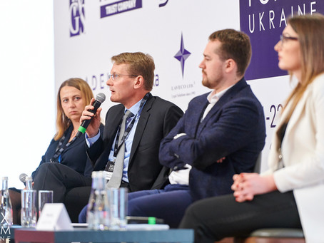 Alexander Weigelt Spoke at INTAX FORUM About Investment from Ukraine