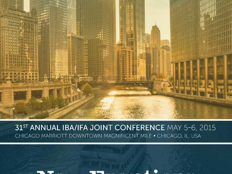 31st Annual Joint IFA/IBA Franchise Conference