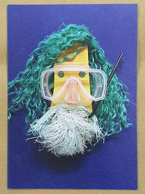 Card - Diving Neptune