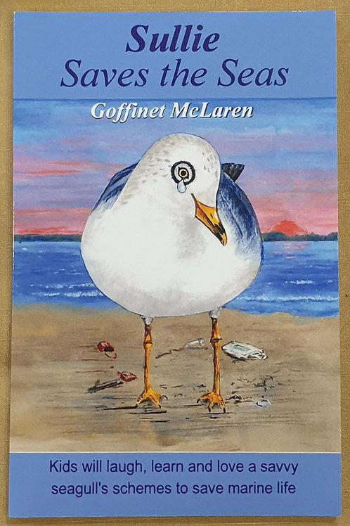 Sullie saves the seas childrens book
