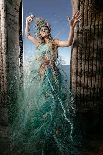 The fabulous Ghost Net Dress