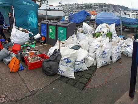 Brixham Breakwater Clean Up: January 2018