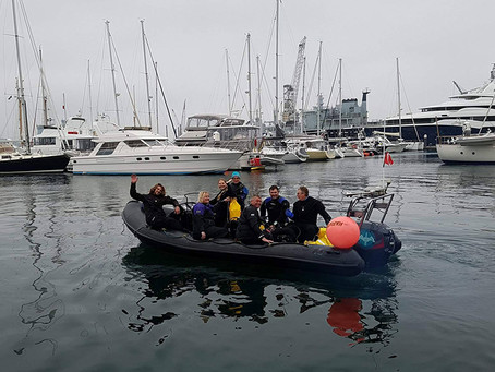 Fathoms Free join forces with Sea Shepherd UK on Ghost Gear recovery