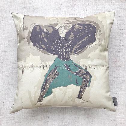 Urban Fashion Print Cushion Cover