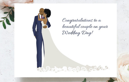 Congratulations on your special day...