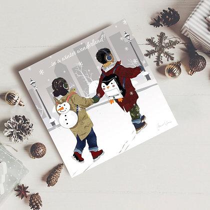 Afro-chic Winter Wonderland