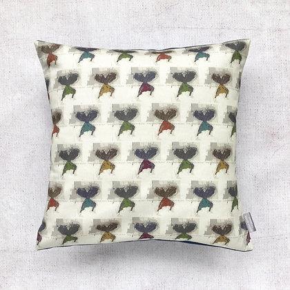 Afro Catwalk Mini Male Print Cushion Cover