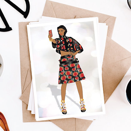 I See You, Selfie Greeting Card