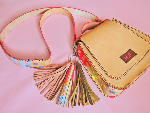 """Wonderland"" Saddlebag"
