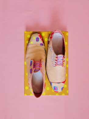 """Wonderland"" Oxfords"