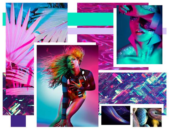 Club Miami Concept Board