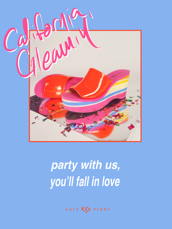 """""""California Gleamin'"""" Fashion Campaign for Katy Perry Collections"""
