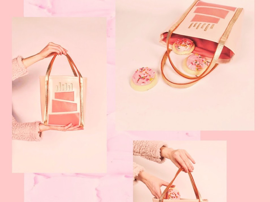 """Keep It Sweet"" Mini Tote"