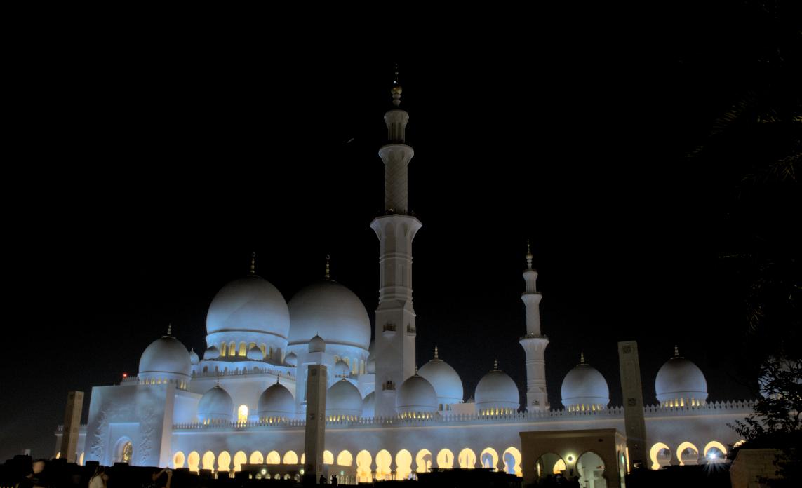 Sheikh Zayed Mosque, Abu Dhabi...!!!