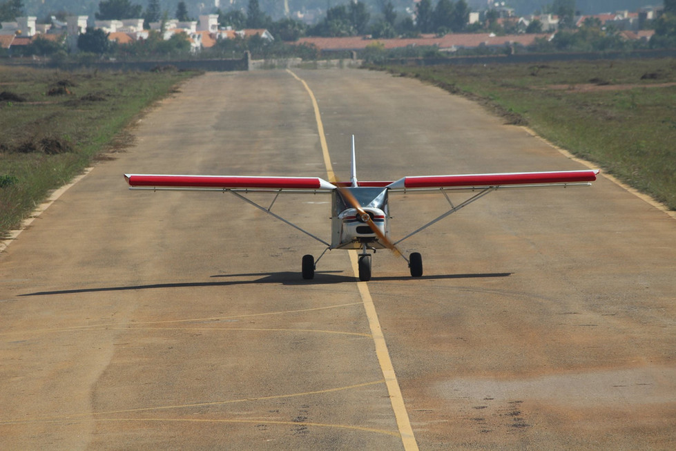Microlight flying - Bengaluru