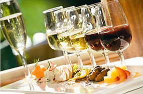 food wine pairing stock photo 2012-04-19