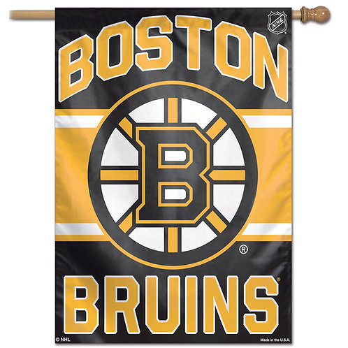 BOSTON BRUINS VERTICAL FLAG