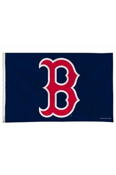 BOSTON RED SOX 3X5 FLAG (B LOGO)