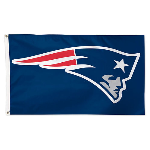 NEW ENGLAND PATRIOTS 3' X 5' FLAG ELVIS HEAD LOGO