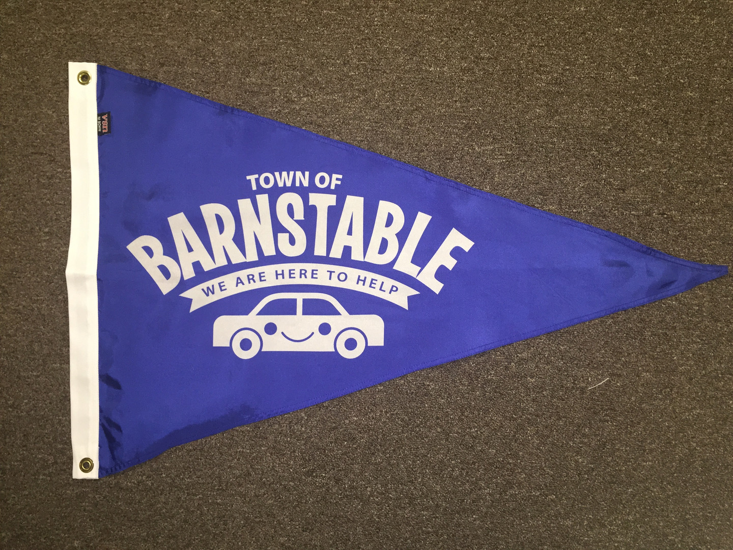 Town of Barn Park Happy Pennant.JPG