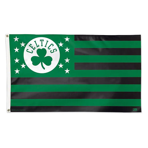 BOSTON CELTICS 3X5 AMERICANA FLAG