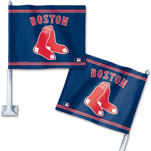 BOSTON RED SOX CAR FLAG
