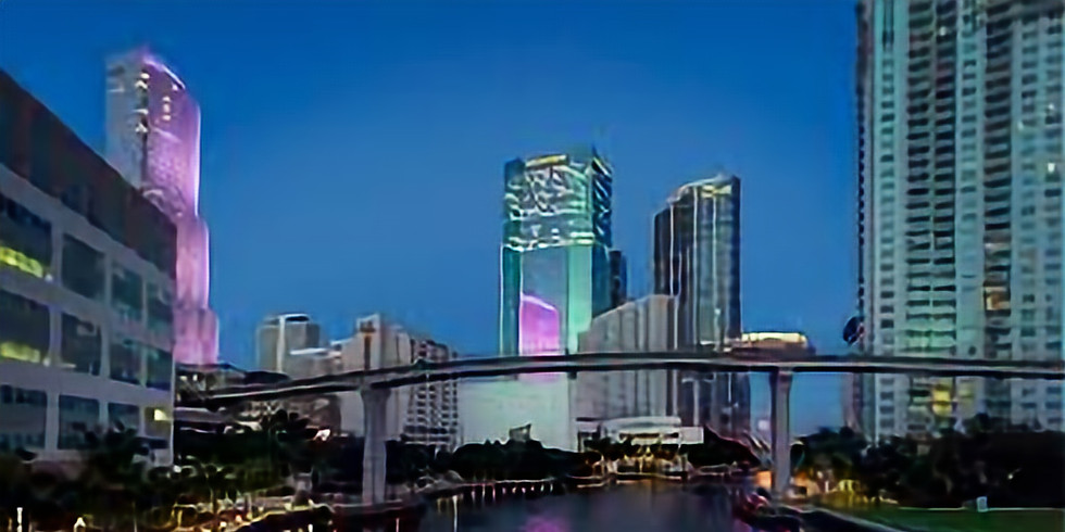 Moon Over Miami River Boat Tour