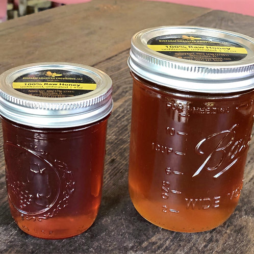 Raw Local Honey - Biofarm