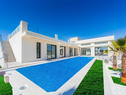 New Villa in Los Balcones, Torrevieja, Spain
